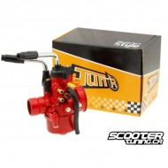 Carburettor Tun'r Red Edition 17.5mm manual Choke