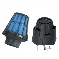 Air filter Polini Short Straigh Black (37mm)