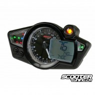 Speedometer Koso RX1NR Black Display