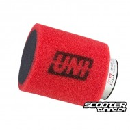 Airfilter UNI Red/Black Straight (44mm)