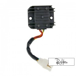 Regulator / Rectifire 4-pins incl. Wire for GY6 50-150cc