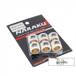 Variator roller weights  Naraku 18x14mm