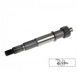 Drive shaft clutch side - 15 teeth for GY6 125-150cc
