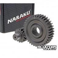 Secondary Gear kit Naraku 15/37 +20% for GY6 125-150cc