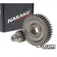Secondary Gear kit Naraku 16/37 +25% for GY6 125-150cc