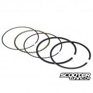 Piston ring set Naraku 50cc for Yamaha 4T LC