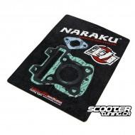 Cylinder gasket set Naraku 50cc for Piaggio 4-stroke