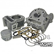 Cylinder kit Naraku V2 90cc with Head GY6 50cc 139QMB/QMA