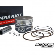 Piston set Naraku 72cc GY6 50cc