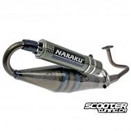 Exhaust Naraku Crossover GY6 50cc