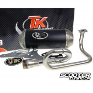 Exhaust Turbokit Gmax GY6 50cc