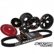 Super Trans kit Naraku 729mm GY6 50cc