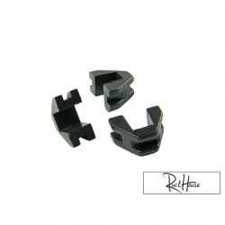 Variator backplate sliders set of 3 pcs GY6 50cc