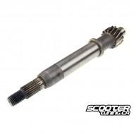 Drive shaft clutch side for GY6 50cc 139QMB/QMA