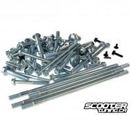 Engine screw set for GY6 50cc 139QMB/QMA