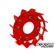Cooling fan Naraku racing red GY6 50cc 139QMB/QMA