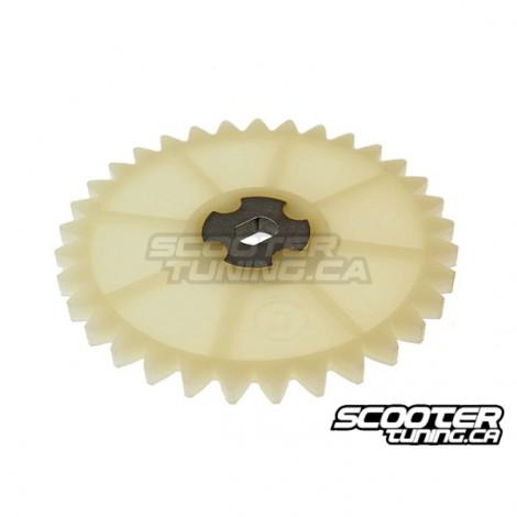 Oil pump driven sprocket (16 tooth) GY6 50cc 139QMB/QMA