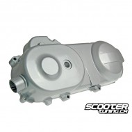 """Crankcase cover silver for 10"""" wheel (669mm) GY6 50cc"""