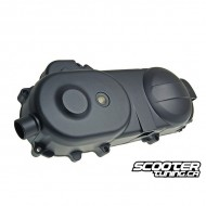 """Crankcase cover black for 10"""" wheel (669mm) GY6 50cc"""