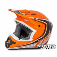 Helmet Fly Kinetic Full Speed Orange/Black