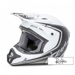 Helmet Fly Kinetic Full Speed Matt White/Black