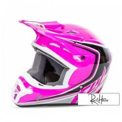 Helmet Fly Kinetic Full Speed Pink/Black/White