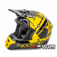 Helmet Fly Kinetic Pro Rockstar