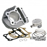 Cylinder kit Naraku 160cc Forged Piston (58.5mm) for GY6 125-150cc