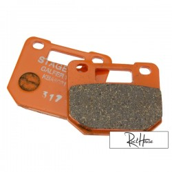 Brake Pad Stage6 4 piston Semi-Mettalic