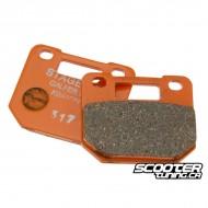 Brake Pad Stage6 4 piston Semi-Mettalic