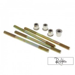 Cylinder Studs with nuts 110mm Naraku (Minarelli)