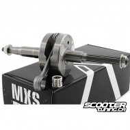Crankshaft MXS GP 90cc 12mm, 45mm stroke/90mm conrod