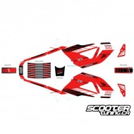 Graphics Kit Yoshimura Grom (Red)