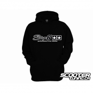 Hoody Stage6 Black Unzipped