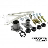 Exhaust Bracket Complete Yasuni C21 Minarelli horizontal