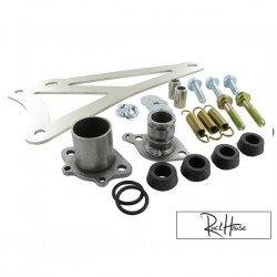 Exhaust Bracket Complete Yasuni C30 Minarelli horizontal