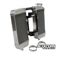 Bolt-On Radiator set Yamaha Bws/Zuma 2002-2011