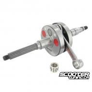 Crankshaft MVT SC 12mm, 44.8mm stroke/90mm conrod