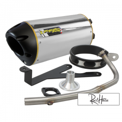 Exhaust Two Brothers Racing (Aluminium) Bws / Zuma / C3 50F (4T)