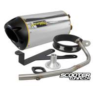 Exhaust Two Brothers Racing Bws/Zuma 50 (Aluminium)
