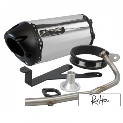 Exhaust Two Brothers Racing Black series (Aluminium) Bws / Zuma / C3 50F (4T)
