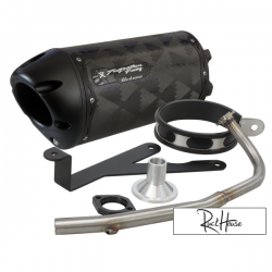 Exhaust Two Brothers Racing Black series (Carbon) Bws / Zuma / C3 50F (4T)