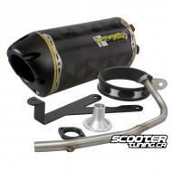 Exhaust Two Brothers Racing 10'' Ruckus (Carbon)