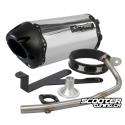 Exhaust Two Brothers Racing 10'' Black series Ruckus (Aluminium)