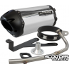 Exhaust Two Brothers Racing 10'' Black series Ruckus (Aluminium)
