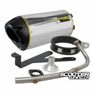 Exhaust Two Brothers Racing Ruckus 10'' (Aluminium)