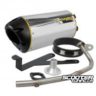 Exhaust Two Brothers Racing Ruckus 10'' (Aluminium)