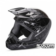 Helmet Fly Kinetic Crux Black