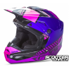 Helmet Fly Kinetic Elite Onset Pink/Purple/Black