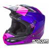 Helmet Fly Kinetic Elite Onset Pink/Purple/Black